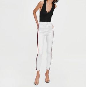Zara Hi-Rise Shaper NWT Skinny Jeans